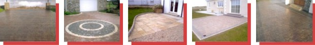 GM Hard Landscaping, Donegal, Paving & Kerbing Contractor, Concreting, General Groundworks, Pattern Imprinted Concrete Paving